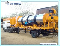 Portable Hot Mix Asphalt Production Plant, MSDM-90