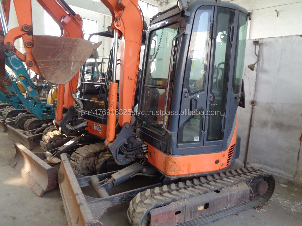 Used mini excavator 3ton,japanese used mini excavator Hitachi ZX30 for sale