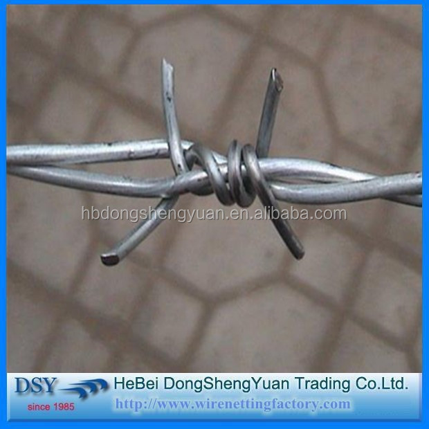 Traditional Twist Hot Dipped Galvanized Barbed Iron Wire/Barbed Wire Fence Mesh/Welded Mesh Fence