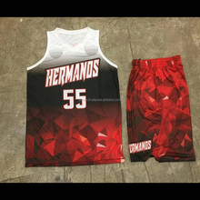 Children Customized High School Reversible Basketball Jersey & Shorts