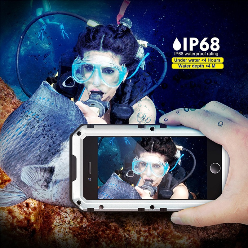 IP68 Waterproof Outdoor Diving phone case for iphone 6 plus, Anti-explosion Sports Case for iPhone 6s Plus