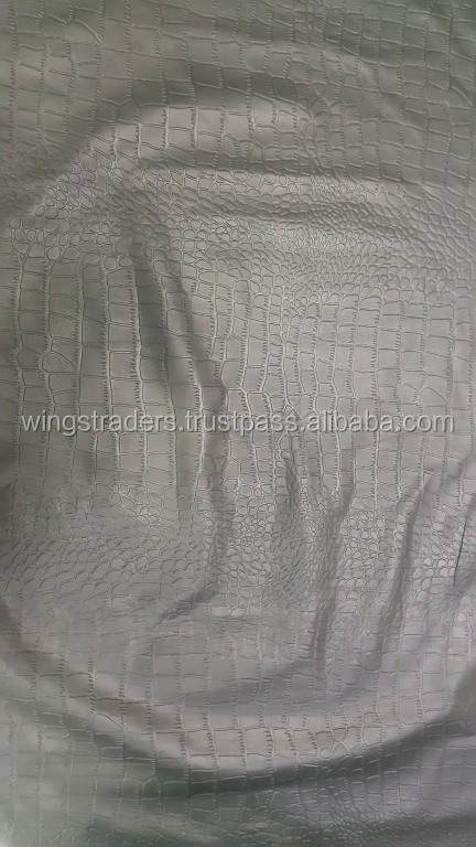 Pure Leather Embossed Crocodile leather for Clothing, Sofa, Cars