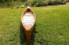 Canoe With Ribs 18' - Handmade wooden real boat