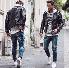 Custom Stylish Unique Fashion Man Leather Jacket/Pakistan leather jacket
