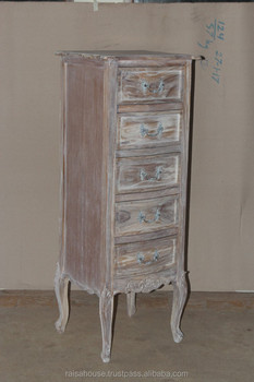 Indonesia Furniture - 5 Drawers Nighstand Reclaimed Furniture