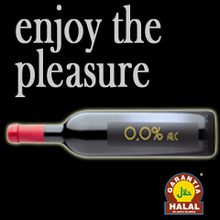 RED wine 0% alc. HALAL- Glass bottle bordailaise 75cl cork closu