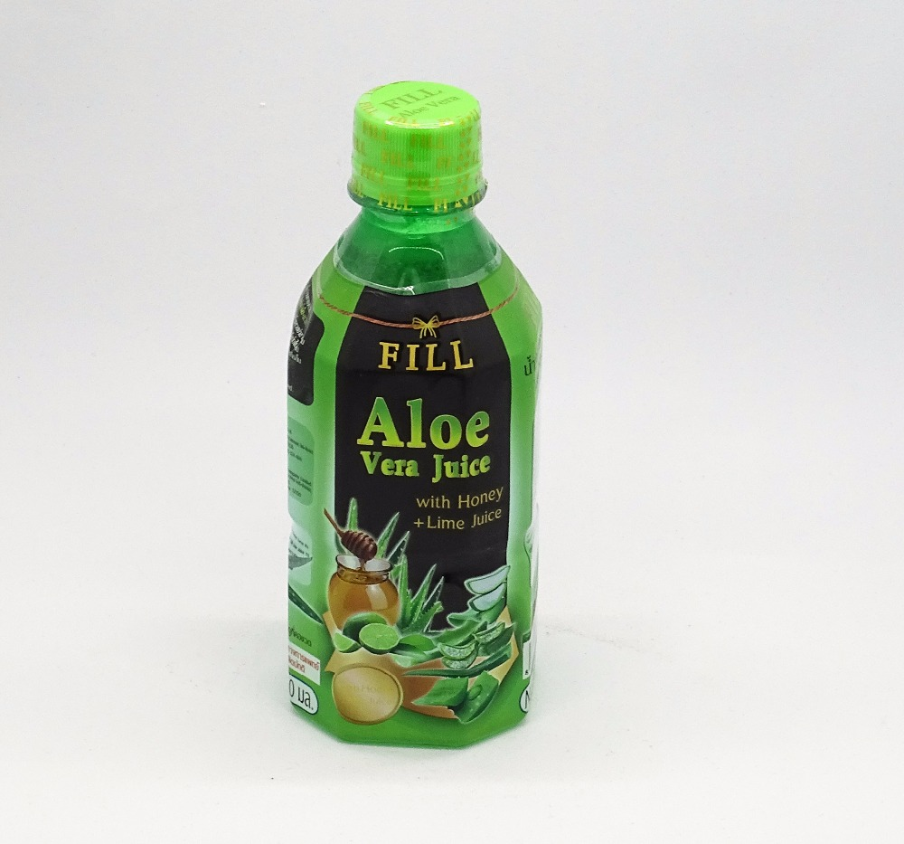 Natural Aloe Vera juice beauty drink with Honey