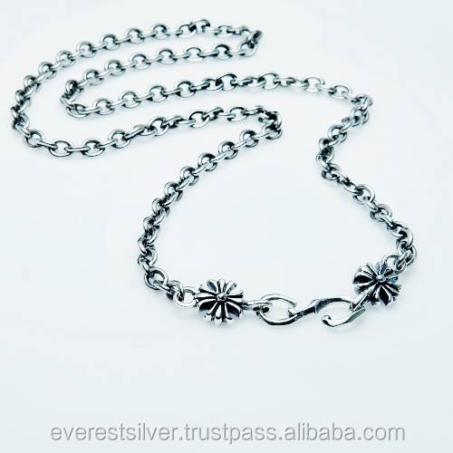 Hot item Factory price cross Necklace silver 925 chain thailand product