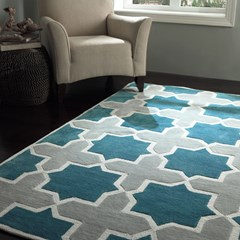 Abstract Carpet Rug TR405