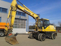 USED MACHINERIES - KOMATSU PW 200 - 7 WHEEL EXCAVATOR (5800)