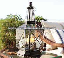Beautiful Design Candlestick Hanging Lantern For Outdoor Decoration