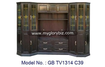 New Unique Design Living Room Furniture Special TV Cabinet In Wooden MDF, antique wooden designs with showcase, tv hall cabinet