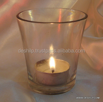 Med Tea Light Glass Home Decor Decorative Wedding Candle Holder