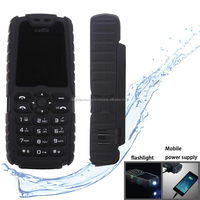 Dual SIM 2G GSM Mobile Phone, Flashlight Functions - Black