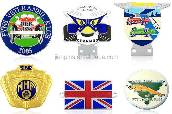 Custom Metal Car Badge/ Custom Car Logo/ Luxury Car Emblems