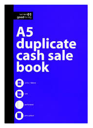 Cash Sale and Invoice Books