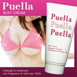 PUELLA Breast Enhancement Cream Bust Massage Wild Rose Fragrance Made in Japan