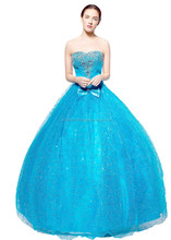 wt09 Ball gown all size colours evening length dress ball gown BEADING