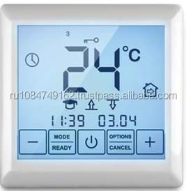 Thermostat SE 200 is intended for control of electrical heating systems (heating mats, films or cable sections)