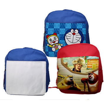 Personalised Kid's Gift Sublimation Blank School Backpack