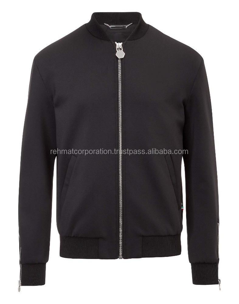 "2015 Fashion leatherr jacket ""gio"" bomber jacket for mens"