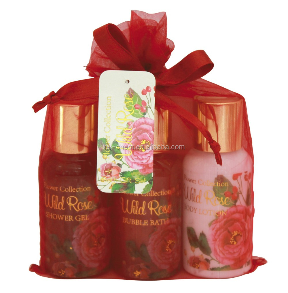 new design cosmetic bath gift set
