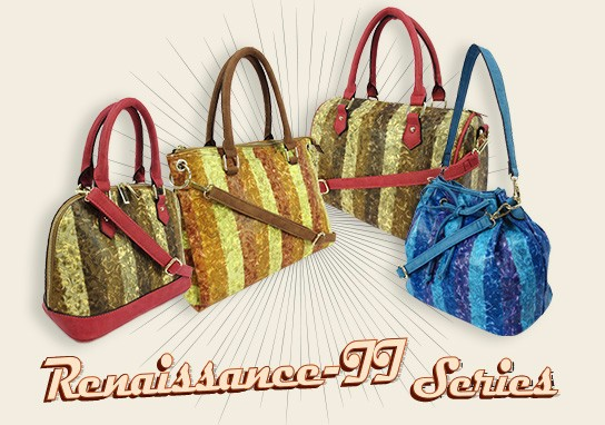 Renaissance Tote Bag, Optional Shoulder Strap