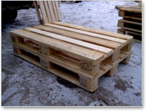 Used EURO EPAL wood pallet price for sale cheap price From Ukraine.