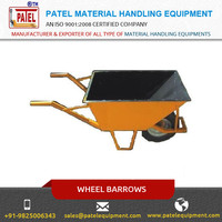 Top Selling Robust Steel Structure Wheel Barrows by Leading Manufacturer