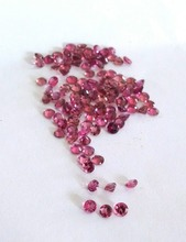 Pink tourmaline rubellite 3mm round lot