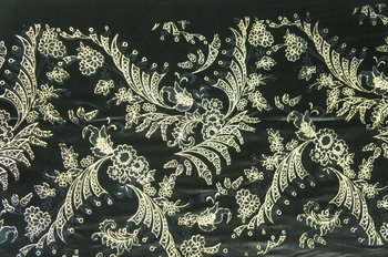 75D SPAN VELVET FLOCKING METALLIC PRINTED