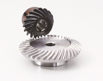 Hardened spiral bevel gear Module 3.0 Carbon steel Ratio 2 Made in Japan KG STOCK GEARS