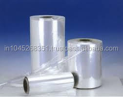 "IN INDIA POLY OLY FIN SHRINK FILM 10""X75 GUAGE X 3500 FEET"