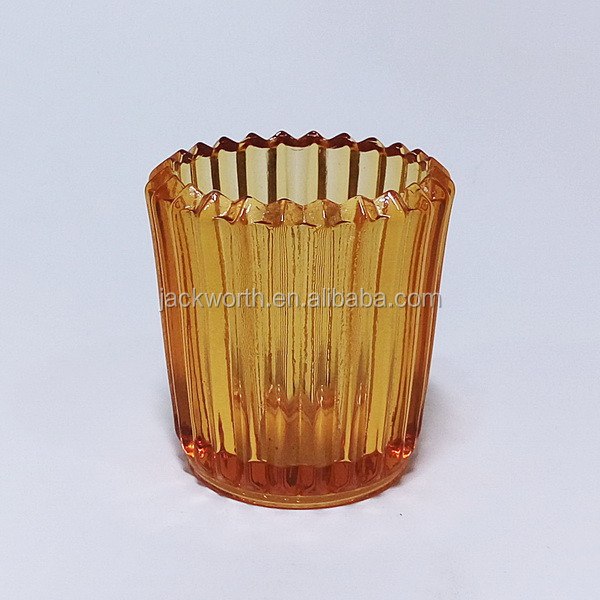 Votive Tea Light Holder Candle Container Glass Candle Holder Home Decor