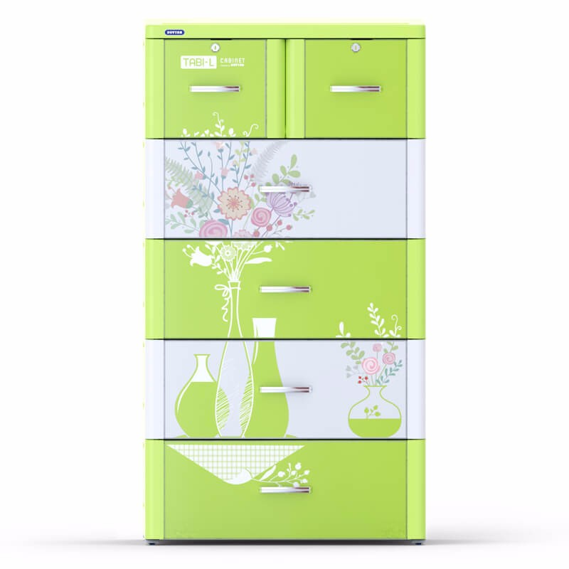 Hot sale item - High quality plastic drawer/ plastic cabinet/ TABI-L CABINET - 5 DRAWERS