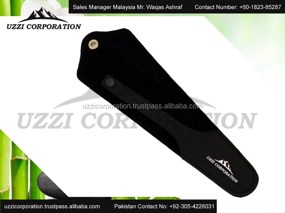 Wholesale hair cutting leather scissor case for scissor and comb