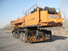 used Tadano crane TG1600M Japan truck crane 160 tons hot sale good performance in Shanghai