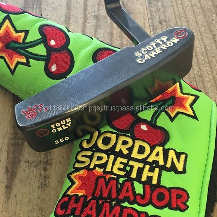 Eye-Catching Stamps Covers for Golf Clubs to Putter Scotty Cameron 2016 009 TOUR PROTOTYPE Putter Jackpot Johnny Stamp