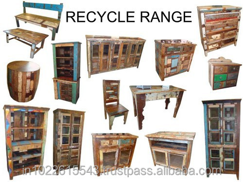 Recycle Wood Furniture Reclaimed Wood Collection ,INDUSTRIAL FURNITURE EXPORTER, Vintage Industrial Furniture.