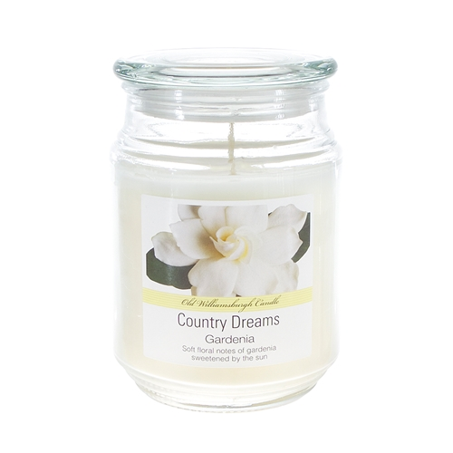 Country Dreams Scented 18 oz. Jar Candle - Gardenia