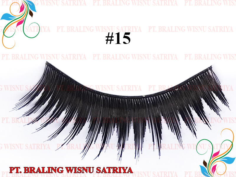 False Eyelashes Synthetic / Human Hair Style 15