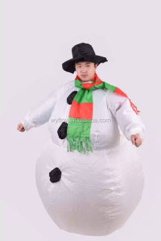 2016 New Inflatable Snowman Suit Christmas Decoration Inflatable Snowman Clothing