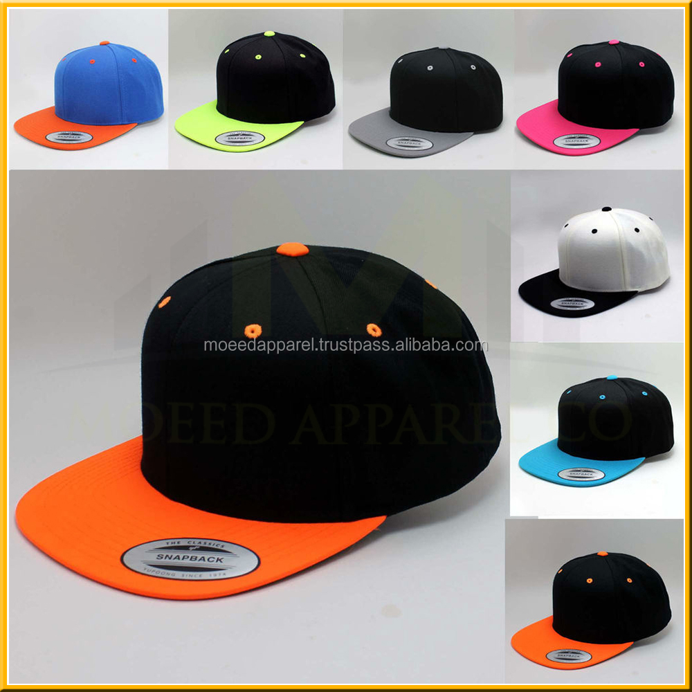 Weed Lead Printed Design Snapback Adjust Flat Cotton Hats, Fashion Design Embroidered