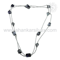 Fashionable Beads Necklace Jewelry Supplier 925 Silver Jewelry Wholesale