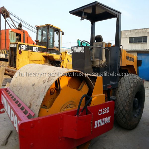 Export Dynapac vibratory roller with open cabin (ca25,ca30)