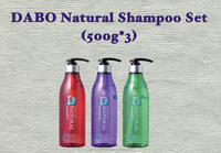 DABO Natural Shampoo Set (500g*3)
