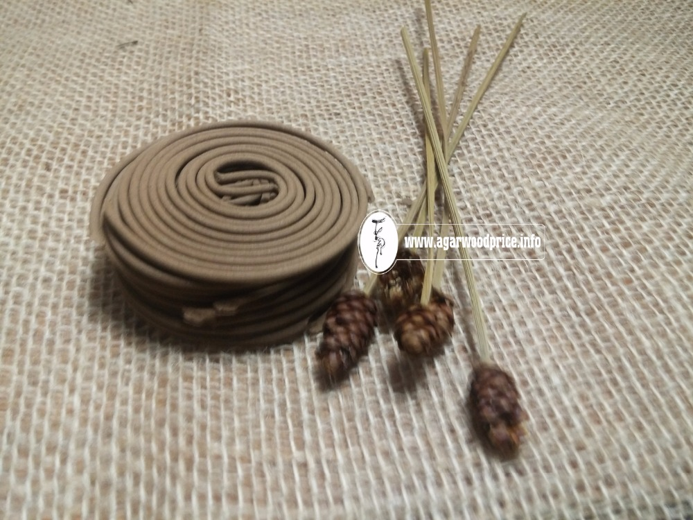 Aquilaria Crassna and special products from its powder - OUD WOOD INCENSE SPIRAL
