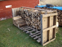Quality Kiln Dried Firewood Alder, birch, oak , beech firewood for sale
