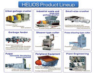 Custom(ized) and Multi-functional solid waste equipment,garbage crusher made in Japan