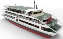 New 50.00 Meter Catamaran Passenger Ferry